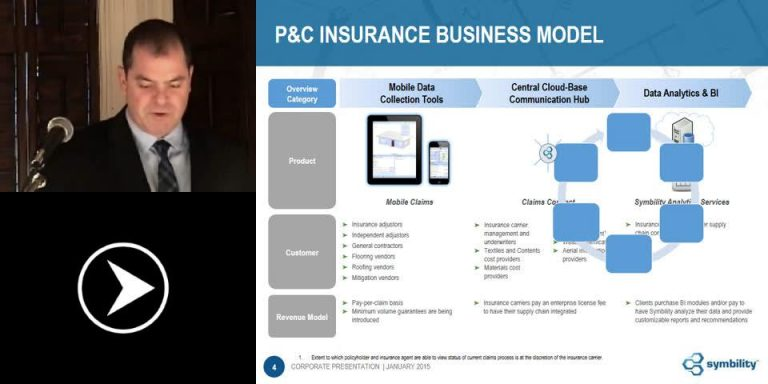Symbility Solutions Provides Mobile Claims Technology