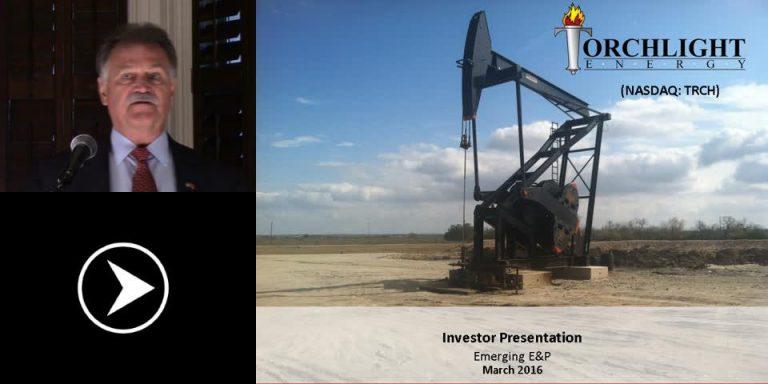 Torchlight Energy Focussed on Domestic Oil Fields in Texas, Oklahoma, Kansas