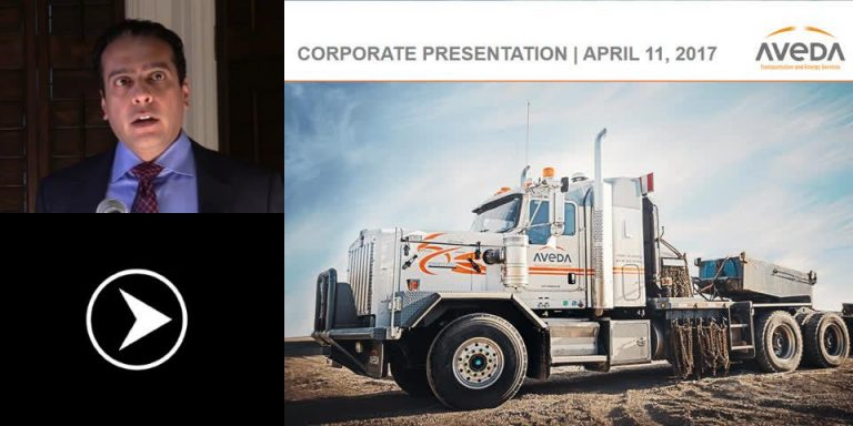 Aveda – Transportation Services and Equipment for Oil & Gas Exploration