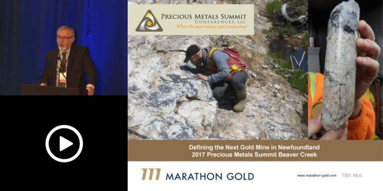 Marathon Gold Investor Presentation, Precious Metals Summit