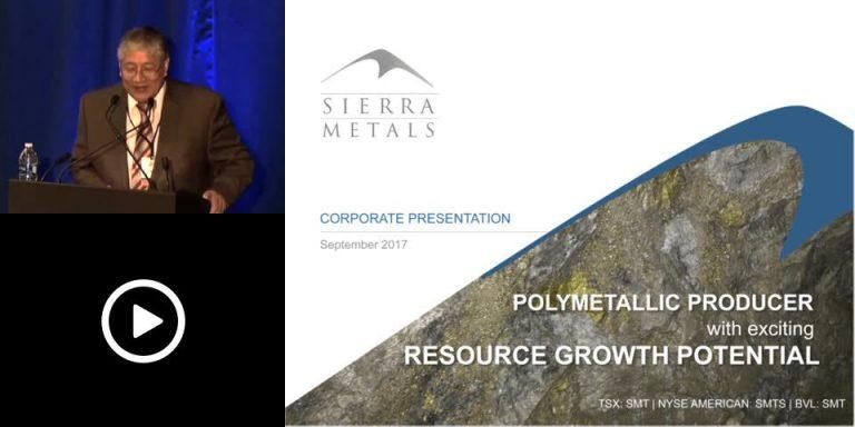 Sierra Metals: Precious/Base Metals Producer in Latin America