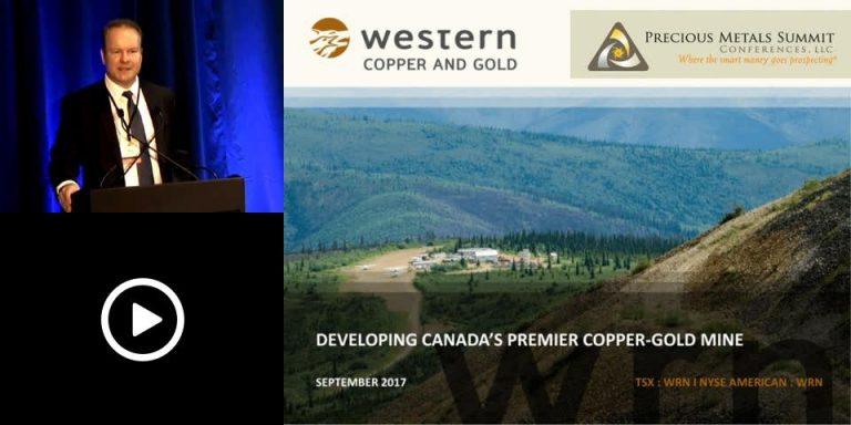 Western Copper and Gold Investor Presentation, Denver Gold Show