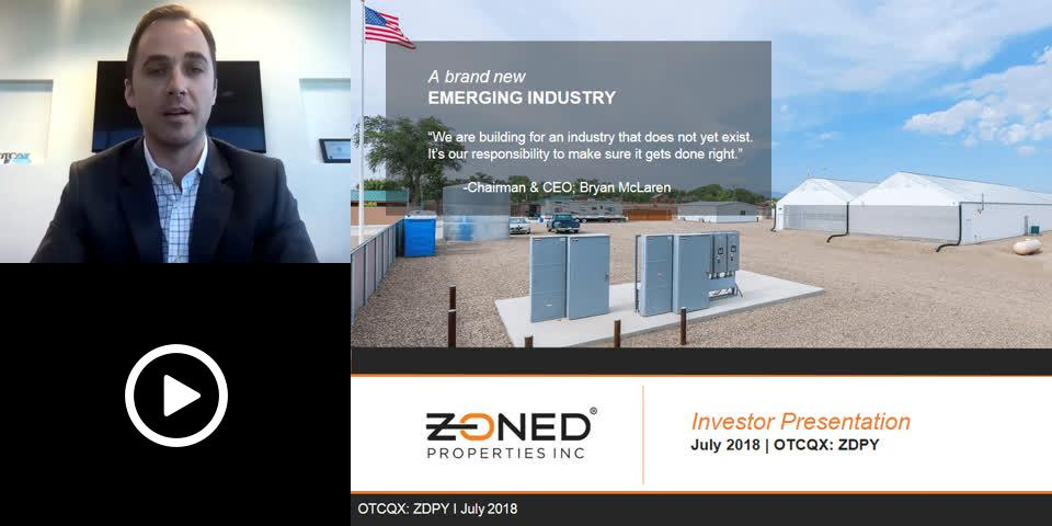 Zoned Properties - Building for an Industry that Does Not Yet Exist