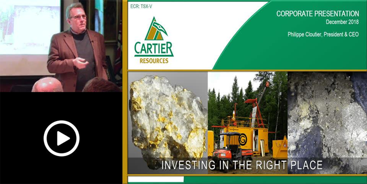 Cartier Resources Presents at MI3 Investor Information Meeting